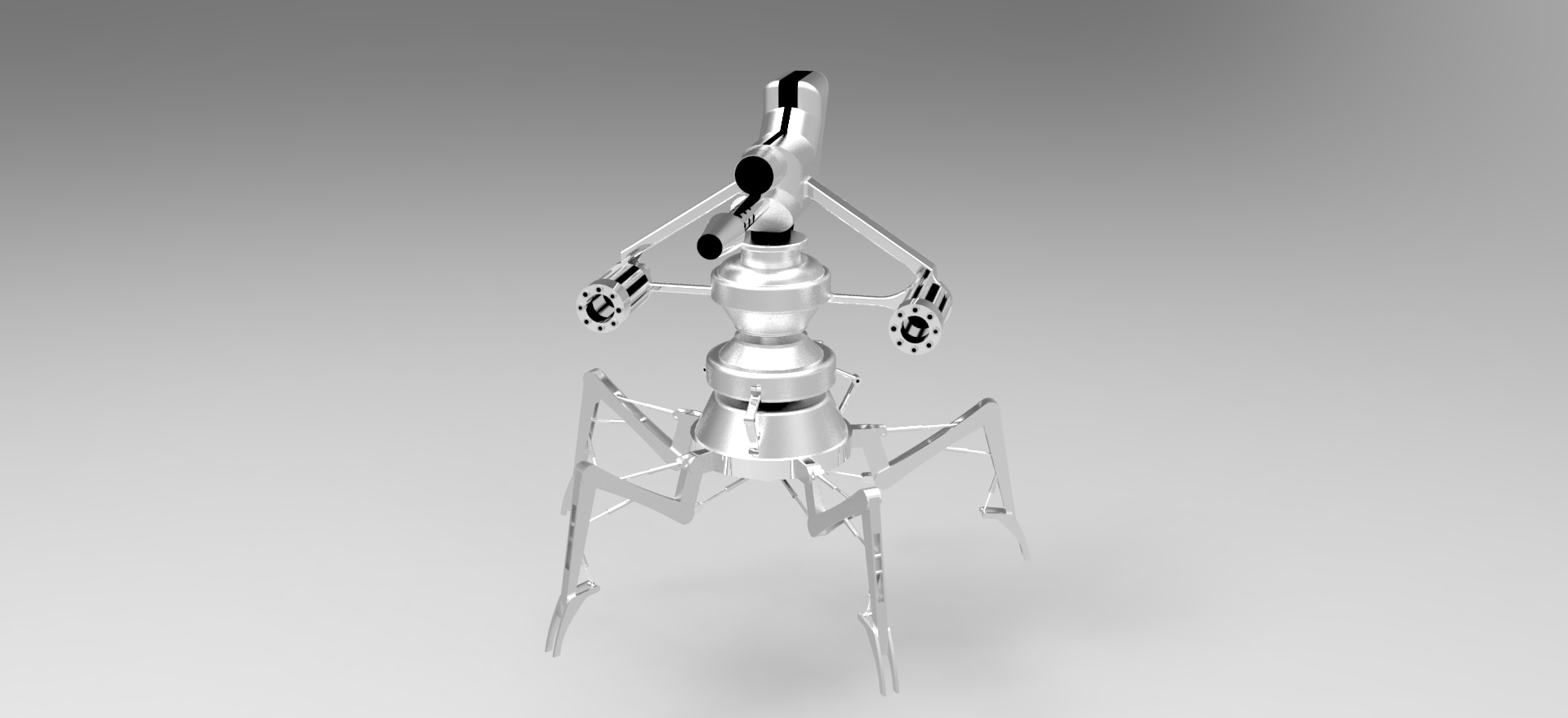 solidworks robot çizimi